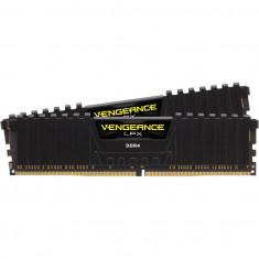 Memorie Corsair Vengeance LPX Black 32GB, DDR4, 3200MHz, CL16, Dual Channel Kit