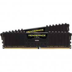 Memorie Corsair Vengeance LPX Black 32GB, DDR4, 3200MHz, CL16, Dual Channel Kit