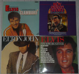 vinyl Elvis Presley,Roy Orbison,Elton John,discc pickup LP,VG+,45 lei bucata