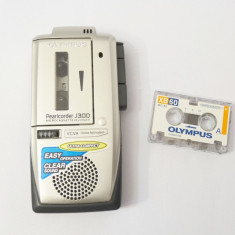 Reportofon cu microcaseta Olympus Pearlcorder J300 + microcaseta