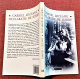 Declaratie de iubire. Editura Humanitas, 2004 - Gabriel Liiceanu
