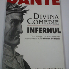 DANTE ALIGHIERI - DIVINA COMEDIE - INFERNUL (text bilingv)