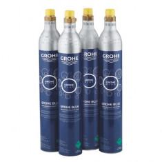 Kit butelii CO2 Grohe Blue Starter 40422000, 425 g, 4 bucati