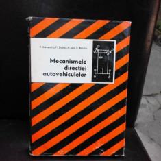 MECANISMELE DIRECTIEI AUTOVEHICULELOR - P. ALEXANDRU