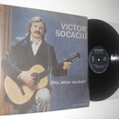 VICTOR SOCACIU: Viata, iubirea cea dintai (1987) vinil stare impecabila/NM