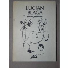 PEISAJ SI AMINTIRE-LUCIAN BLAGA BUCURESTI 1988
