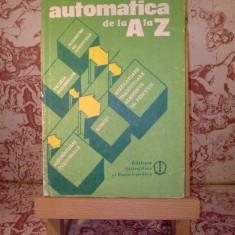 """Gabriel Ionescu - Automatica de la A la Z """"A518"""""""