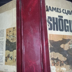 carte veche de colectie,Shogun,james clavell,1988,LEGATA,COPERTI GROASE,T.GRATUI