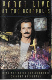 Caseta Yanni - Live At The Acropolis, originala