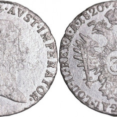 1820 - A - 3 kreuzer - Francis II - Imperiul Austriac