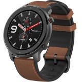 Cumpara ieftin Smartwatch Amazfit GTR 47MM Carcasa Aluminiu si Curea Maro, Xiaomi