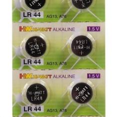10 Buc Baterii Alcaline LR 44 (AG 13) 1.5 V - Ieftine - Pret Mic