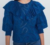 Camasa Zara, albastru, S