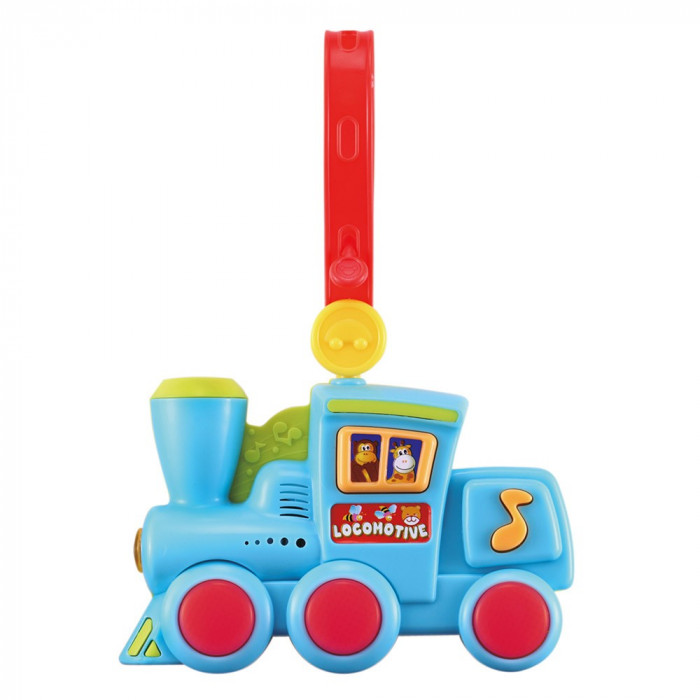Locomotiva muzicala bebelusi cu lumini - Bino