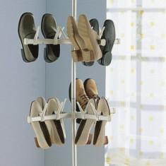 Suport telescopic pentru 48 perechi pantofi