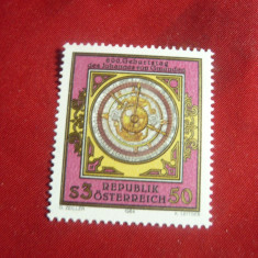 Serie Austria 1984 - Cadran Solar , 1 valoare