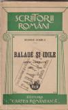 GEORGE COSBUC - BALADE SI IDILE ( EDITIA A XIII-A ) ( 1927 )