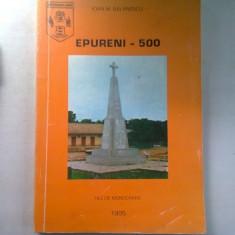 EPURENI - 500 - IOAN M. BALANESCU (FILE DE MONOGRAFIE)