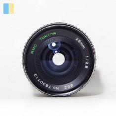 Obiectiv RMC Tokina 28mm f/2.8 montura Olympus OM, Standard, Manual focus