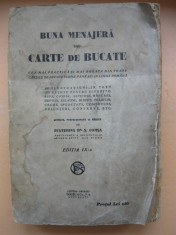 ECATERINA COMSA - BUNA MENAJERA SAU CARTE DE BUCATE - editia IX-a, interbelica foto