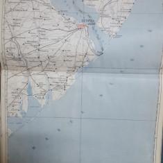 Harta Cetatea Albă, Odesa, Sărăria, Culevcea, Tuzla, 1929