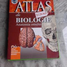 ATLAS SCOLAR DE BIOLOGIE - FLORICA TIBEA
