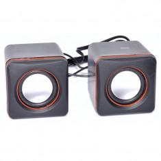 Boxe mini de calculator cu USB D-02A