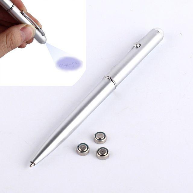Pix cu pasta invizibila , pix care scrie invizibil pentru ochiul liber