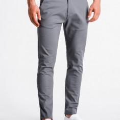 Pantaloni premium, casual, barbati - P830-gri
