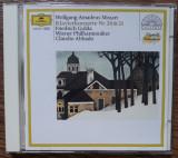 CD Mozart – Klavierkonzerte Nr. 20 & 21 [Friedrich Gulda, Claudio Abbado], Deutsche Grammophon