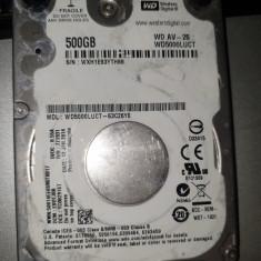 hard thin laptop -SATA- de 500 gb   - WESTERN DIGITAL -