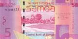 Bancnota Samoa 5 Tala (2014) - P38b UNC