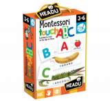 Montessori - Joc tactil ABC