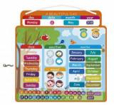Calendar cu piese magnetice in limba engleza