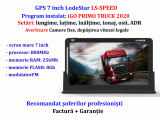 Navigatie GiPieS GPS 7 inch HD LodeStar harti EU+RO 2020 Camioane/TIR/Autoturism