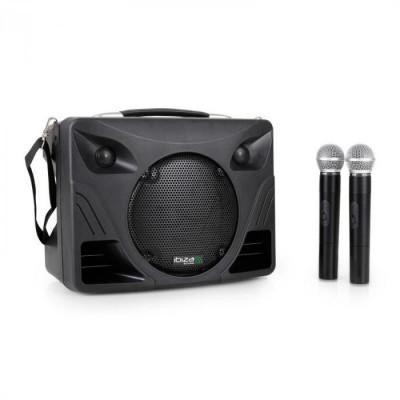 Ibiza Sistem Audio Portabil Port85 VHF USB/SD și 2Microfoane foto