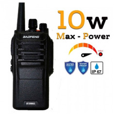 Statie radio Baofeng BF- S56MAX UHF band 10 W , radio FM , IP57