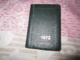 agenda veche scrisa cea mai mica i