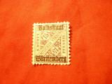 Timbru Wurtemburg 1919 supratipar Volkstaat , 15 pf.sarniera, Nestampilat