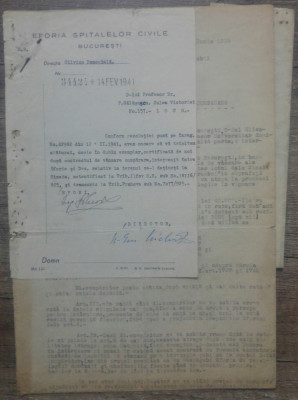 Contract vanzare teren Sinaia intre Petru Galasescu si Eforia Spitalelor Civile foto
