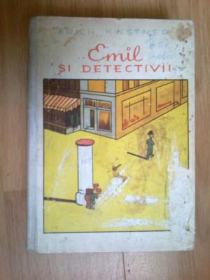 d4 ERICH KASTNER - EMIL SI DETECTIVII foto