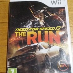 WII Need for speed The run joc original PAL / by Wadder