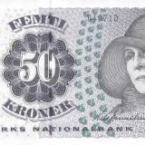 DANEMARCA - 50 kr - seria 2004