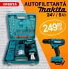 Autofiletanta Makita 24V 5Ah 2xAcumulatori Percutie + 25 Accesorii