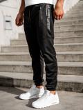 Pantaloni de trening negri Bolf CE089