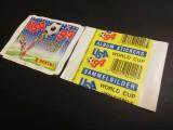 Pliculet sigilat de colectie Panini World Cup 1994 SUA, spate galben