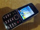 TELEFON NOKIA C2-01 DECODAT IN STARE FOARTE BUNA+INCARCATOR, Negru, Sub 4GB, Neblocat