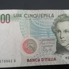MDBS - BANCNOTA ITALIA - 5 000 LIRE