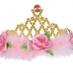 Costum Copii pentru serbare Regina Trandafirilor 128 cm