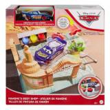 Set de joaca vopsitorie Cars Ramone's Paint Shop, Mattel